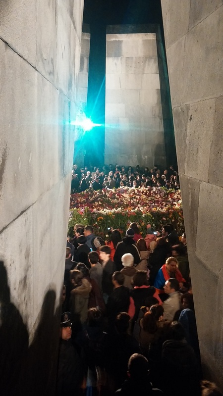 Dzidzernagapert Armenian Genocide Memorial, Yerevan (photo by Raffi Sarkissian)